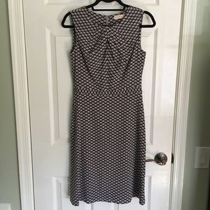 Tory Burch Maxine Silk A-Line Dress